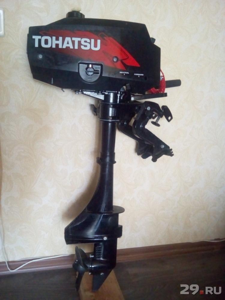 лодочный мотор tohatsu m3 5b2s