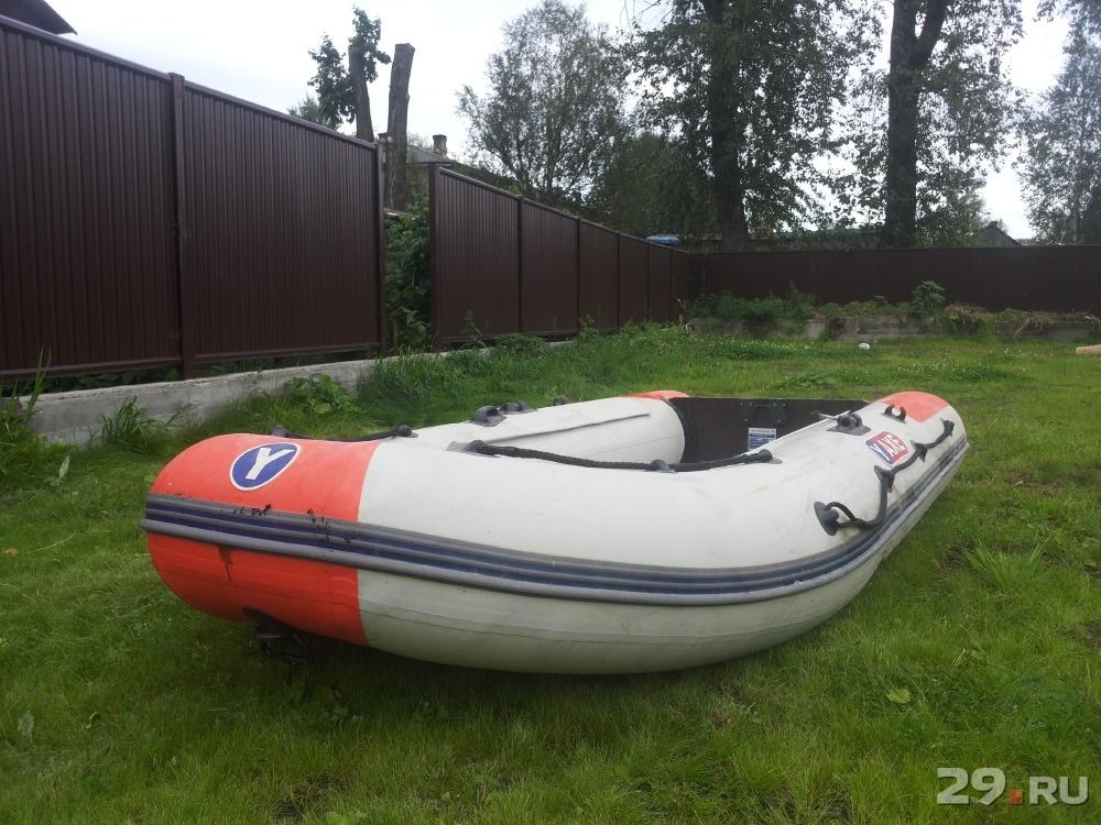 надувная лодка с плотным дном