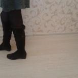 Продам зимние женские сапоги,р.38,ф.Sufina,верх велюр,внутри натур.мех, Архангельск