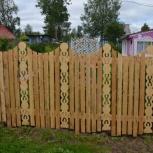 Скульптуры для сада. Резные заборы, Архангельск