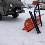 Снегоуборочный отвал на УАЗ, Ленд Крузер и другие внедорожники, Архангельск