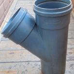 Канализация, тройник 45%, пластик. диаметр 160 мм, Архангельск