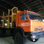 Аренда КамАЗ-вездеход с лесным гидроманипулятором (ФИШКА), Архангельск