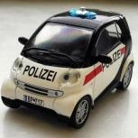 Полицейские машины мира 45 SMART CITY COUPE, полиция австрии, Архангельск