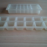 2 Формы для заморозки льда кубиками из пищевого пластика, ссср, б/у, Архангельск