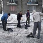 Уборка снега, Архангельск