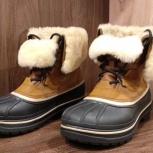 Мужские песочные ботинки CROCS Men's AllCast II Luxe Shearling Boot, Архангельск