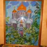 Картина вышитая бисером, Архангельск