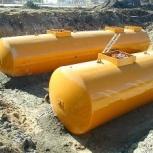 Емкости подземные стальные, горизонтальные резервуары, Архангельск