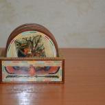 Подставки деревянные для стаканов, Архангельск