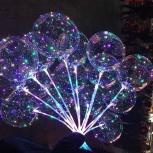 Воздушные шары bobo LED Red Green Transparent, Архангельск