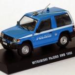 Полицейские машины мира спец. выпуск 4 MITSUBISHI PAJERO 1998, Архангельск