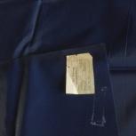 Отрезы ткани Болонь 2 шт.новые тёмно-синнго цвета, Архангельск