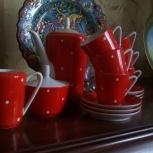 Изящный и уютный кофейный сервиз для дома на 6 персон, Архангельск