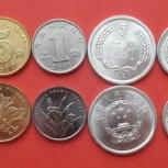 Набор из 6 современных монет Китая (Китайской народной республики), Архангельск