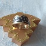 Кольцо из серебра 925 пробы Северная чернь, Архангельск
