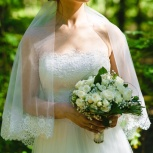 Свадебное платье и фата, Архангельск