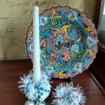 Новогоднее украшение на свечи, Архангельск