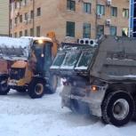 уборка снега в Архангельске, Архангельск