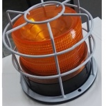 Маячок оранжевый  питание 220в проблесковый, лампы сигнальные, Архангельск