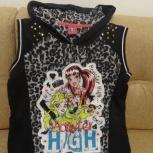 продам красивую модную жилетку Monster High (с капюшоном) для девочки, Архангельск