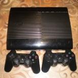 приставка  Sony play station3 slim 500 гигабайт+ 28 игр, Архангельск