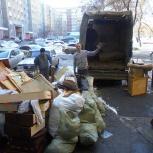 Вывоз мусора., Архангельск