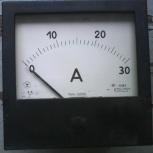 Амперметр постоянного тока щитовой М381. Диапазон 0…30 А. 110х110 мм, Архангельск