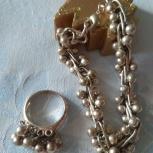 Необычный подвижный браслет и кольцо, Архангельск