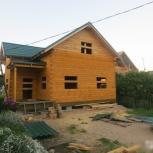 Строительство домов, бань из бруса, круглого бревна, Архангельск