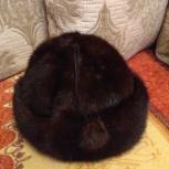Шапочка из норки, размер 56 примерный, Архангельск
