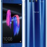 Продам новый Honor 9 синий 4/64GB, Архангельск