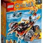 Конструктор LEGO Legends of Chima 70222 Огненный вездеход Тормака, Архангельск