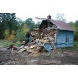 Демонтаж хоз построек, Архангельск