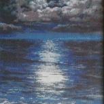 Картина ночное море, Архангельск