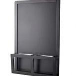 Доска для записей/магнитная, черный, 48x71 см, Архангельск