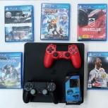 Продам игровую консоль PlayStation 4 slim 500GB, Архангельск
