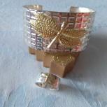 Комплект браслет и кольцо в едином стиле, Архангельск