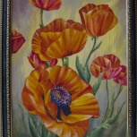 Картина акриловыми красками на холсте, Архангельск