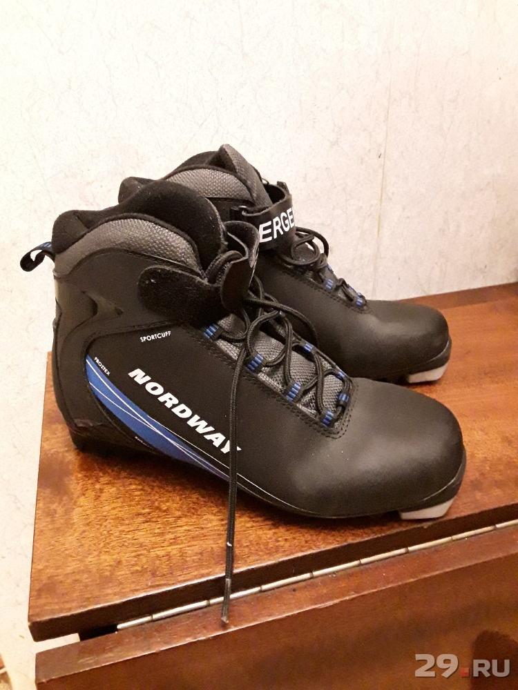 1300e412c23c Лыжные ботинки Nordway б у Цена - 1300.00 руб., Архангельск - 29.RU