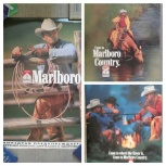 Плакаты мальборо бумажныес изображением ковбоя и лошадей и другие, Архангельск